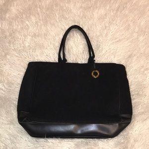 5ffea73dd6 Givenchy wool blend black tote